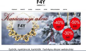 ekszer webshop